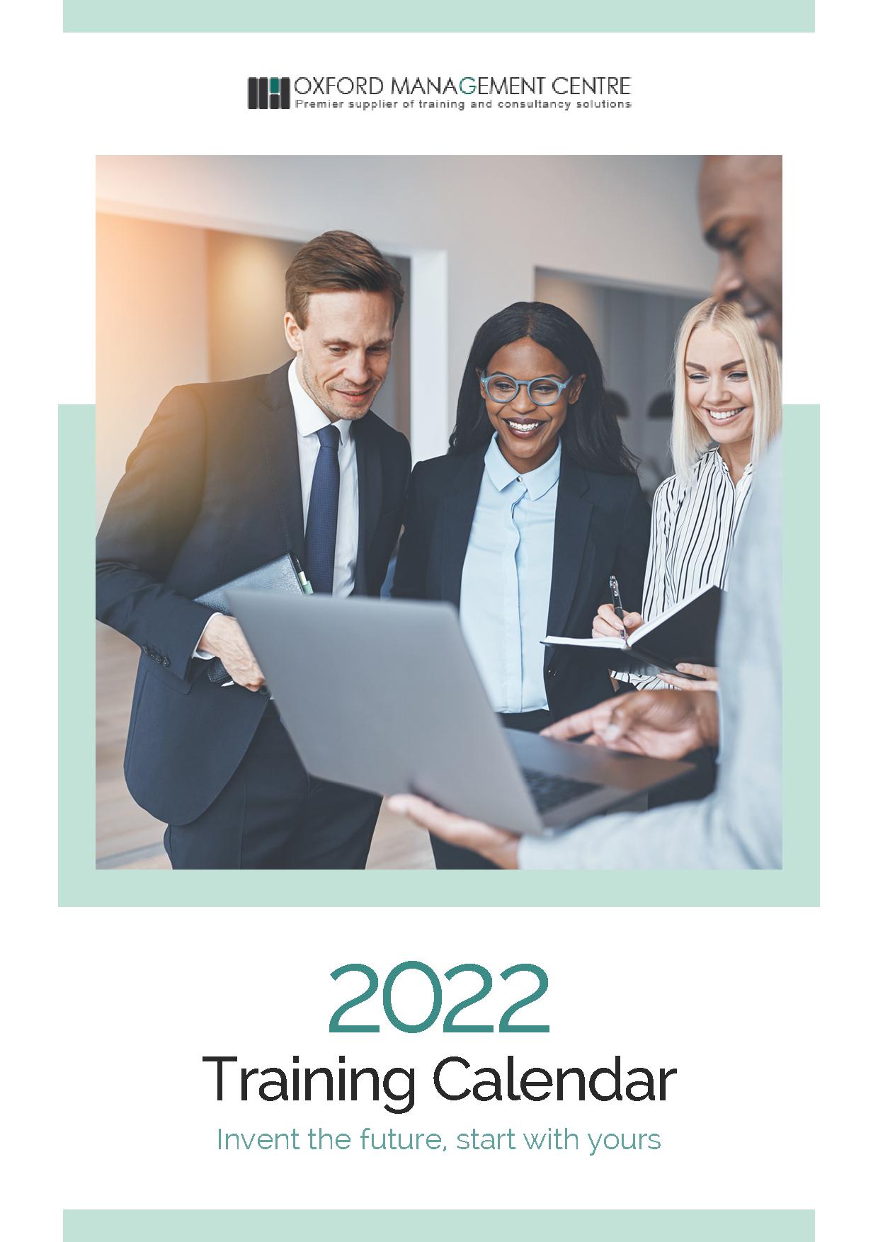 Download | 2022 Training Calendar